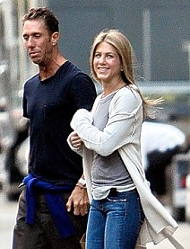 Jennifer Aniston and Hairstylist Chris McMillan