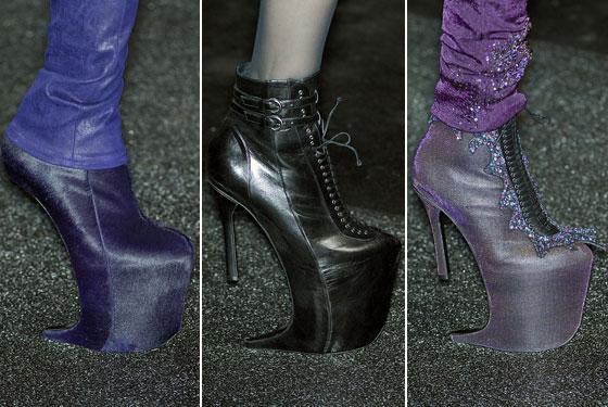 Nina Ricci Fall 09 Shoe Collection